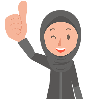 Muslimoji woman messages sticker-7