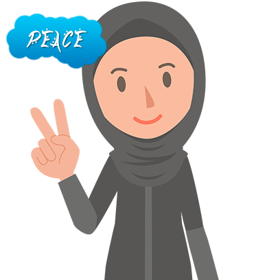 Muslimoji woman messages sticker-0