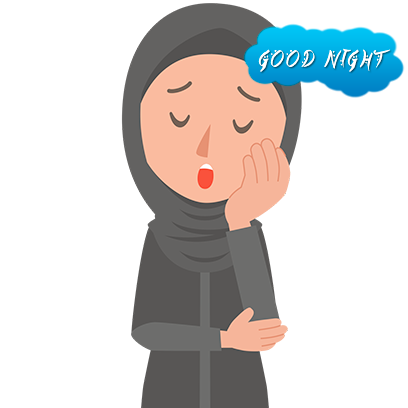 Muslimoji woman messages sticker-4
