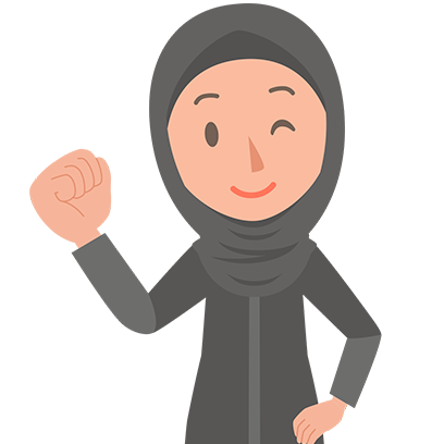 Muslimoji woman messages sticker-6