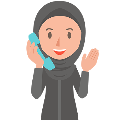 Muslimoji woman messages sticker-10