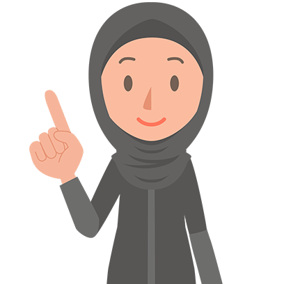 Muslimoji woman messages sticker-3