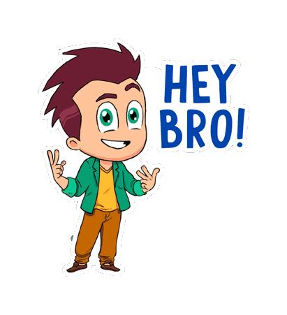 Hello Ok Bye Sticker messages sticker-0