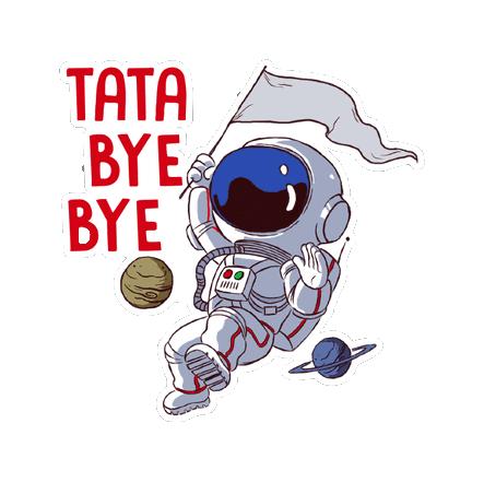 Hello Ok Bye Sticker messages sticker-1