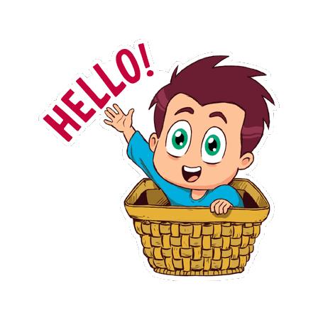 Hello Ok Bye Sticker messages sticker-11