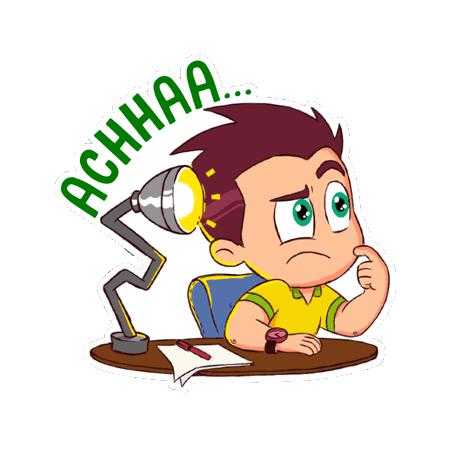 Hello Ok Bye Sticker messages sticker-6