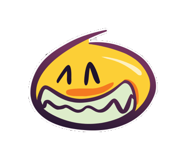 Wackey Smiley Sticker messages sticker-6