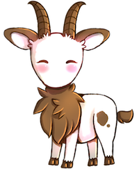 Goat Cute - Best Goat Stickers messages sticker-7