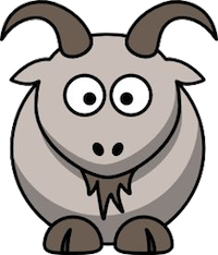 Goat Cute - Best Goat Stickers messages sticker-9