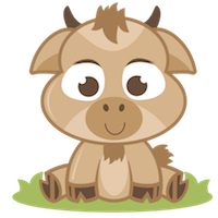 Goat Cute - Best Goat Stickers messages sticker-8