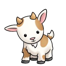 Goat Cute - Best Goat Stickers messages sticker-6