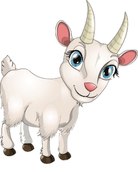 Goat Cute - Best Goat Stickers messages sticker-11