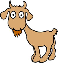 Goat Cute - Best Goat Stickers messages sticker-1