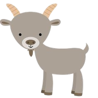 Goat Cute - Best Goat Stickers messages sticker-3