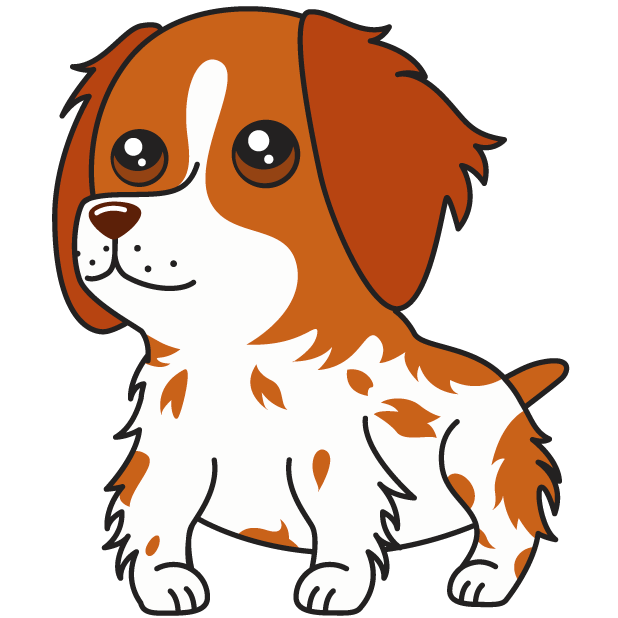 Honey the Brittany Spaniel messages sticker-6
