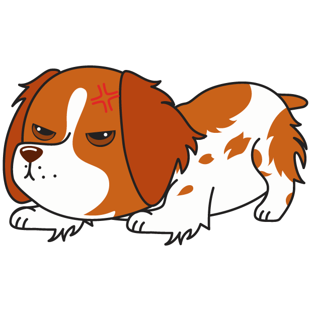 Honey the Brittany Spaniel messages sticker-0