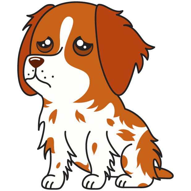 Honey the Brittany Spaniel messages sticker-1