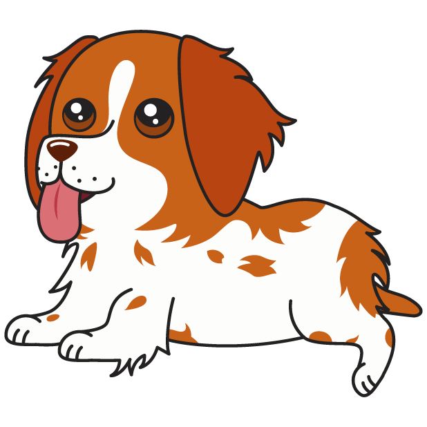 Honey the Brittany Spaniel messages sticker-4