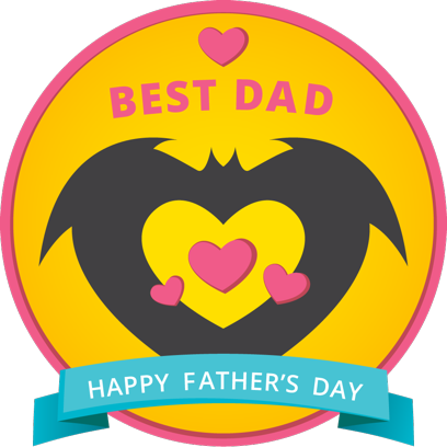 Father's Day Stickers #1-Illustrated and Photo Art messages sticker-7