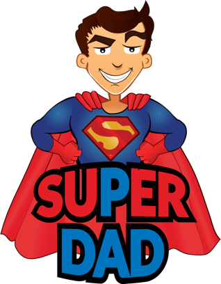 Father's Day Stickers #1-Illustrated and Photo Art messages sticker-6
