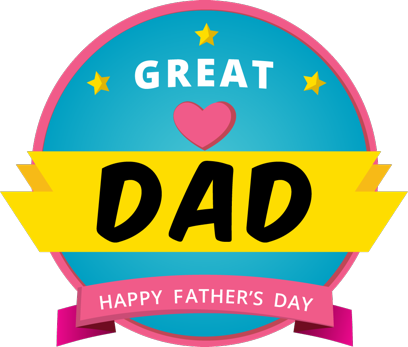 Father's Day Stickers #1-Illustrated and Photo Art messages sticker-9