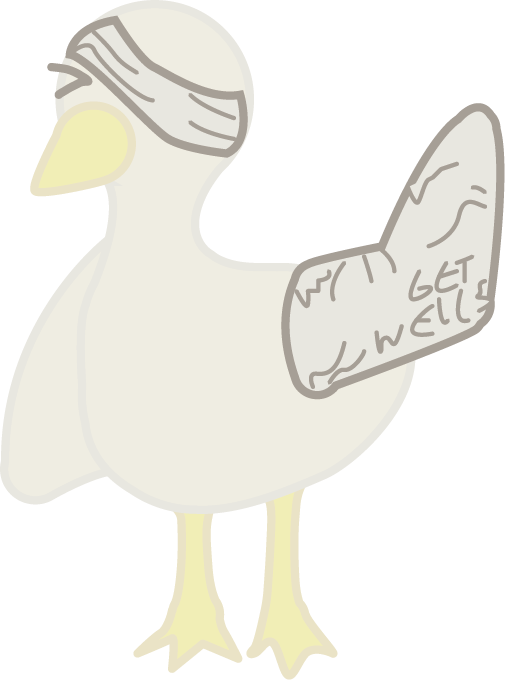 Angry Swan Stickers messages sticker-10