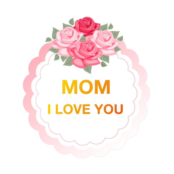Cute Mother's Day Sticker - Stickers for iMessage messages sticker-1
