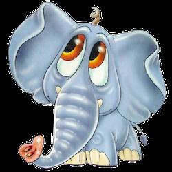 ElephantMoji - Best Elephant Emoji & Stickers messages sticker-11