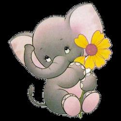 ElephantMoji - Best Elephant Emoji & Stickers messages sticker-7