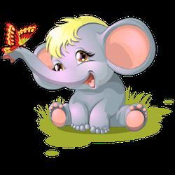 ElephantMoji - Best Elephant Emoji & Stickers messages sticker-9