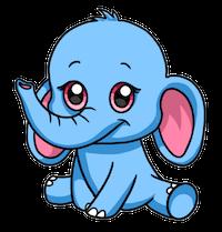 ElephantMoji - Best Elephant Emoji & Stickers messages sticker-0