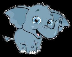 ElephantMoji - Best Elephant Emoji & Stickers messages sticker-3