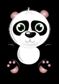 PandaMoji - Cute Emoji & Stickers messages sticker-9