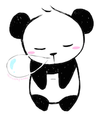PandaMoji - Cute Emoji & Stickers messages sticker-7