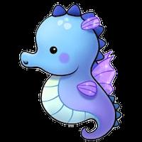 Sea Horse Emoji messages sticker-0