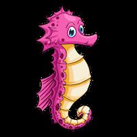 Sea Horse Emoji messages sticker-3