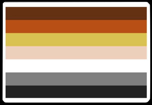 PrideNotPrejudice Solidarity Flags messages sticker-7