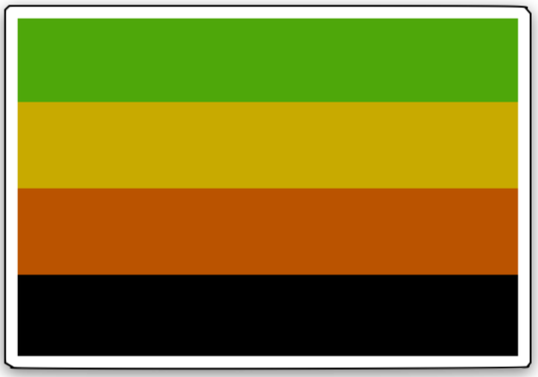 PrideNotPrejudice Solidarity Flags messages sticker-2