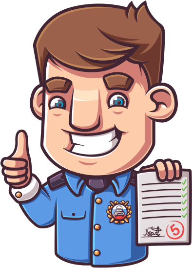 Экзамен 2018 ПДД - Билеты ГАИ messages sticker-1