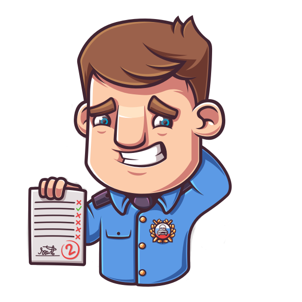Экзамен 2019 ПДД - Билеты ГАИ messages sticker-3