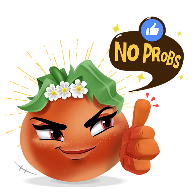 Wasted Veggies: Nina messages sticker-5