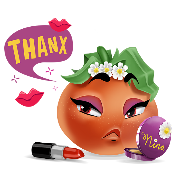 Wasted Veggies: Nina messages sticker-9