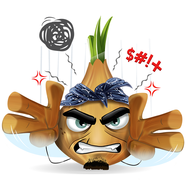 Wasted Veggies: Norman messages sticker-8