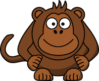 MonkeyCute - Cute Monkey Emoji And Stickers messages sticker-6