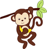 MonkeyCute - Cute Monkey Emoji And Stickers messages sticker-4