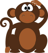 MonkeyCute - Cute Monkey Emoji And Stickers messages sticker-8
