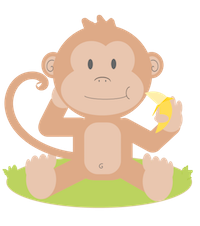MonkeyCute - Cute Monkey Emoji And Stickers messages sticker-0