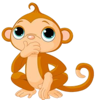 MonkeyCute - Cute Monkey Emoji And Stickers messages sticker-3