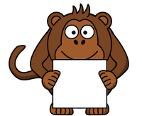 MonkeyCute - Cute Monkey Emoji And Stickers messages sticker-7