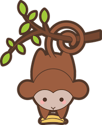 MonkeyCute - Cute Monkey Emoji And Stickers messages sticker-5